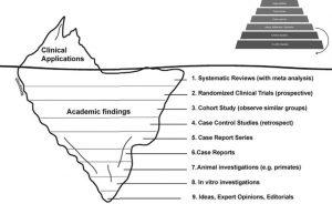 Práctica basada en evidencia y la pirámide de jerarquía de evidencia: editorial del AJODO